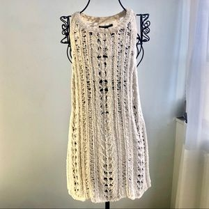 American eagles crochet sleeveless top size S